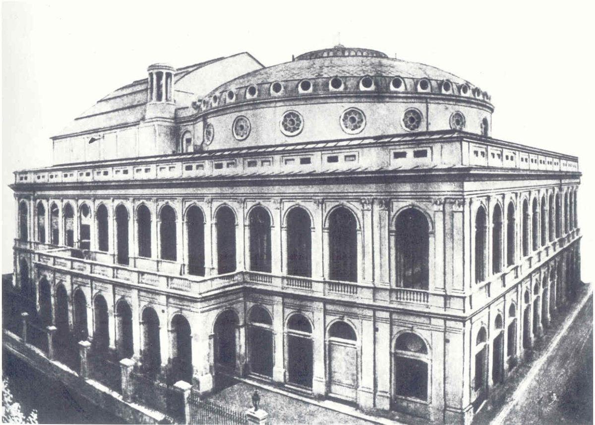 1880 Teatro Costanzi