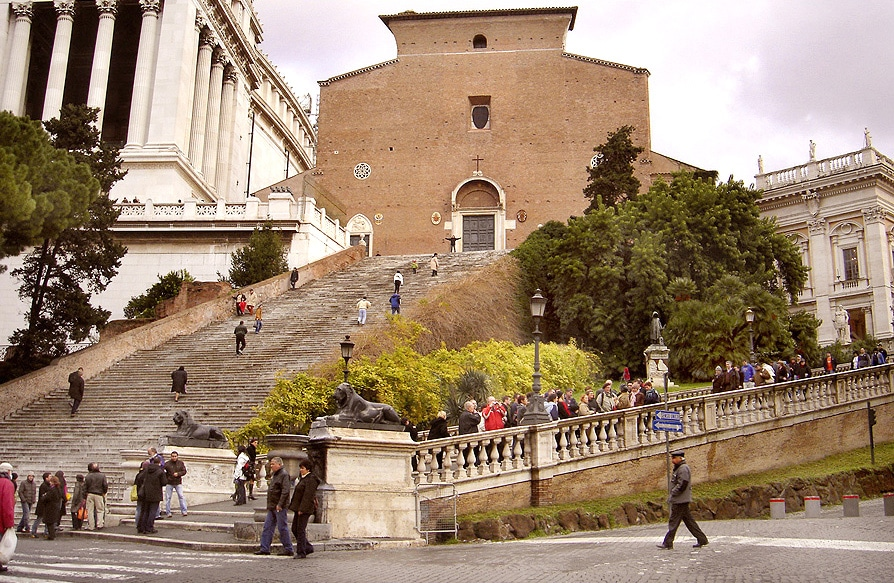 1983-84 Basilica di Santa Maria i Aracoeli